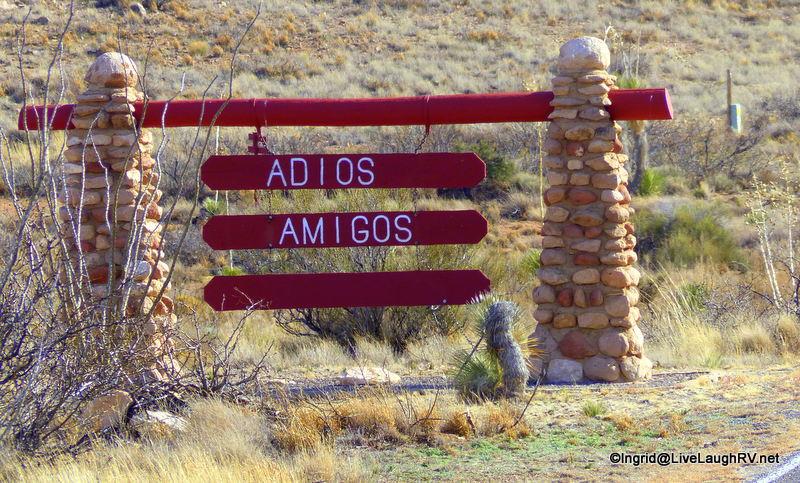 Adios Texas - until we meet again!