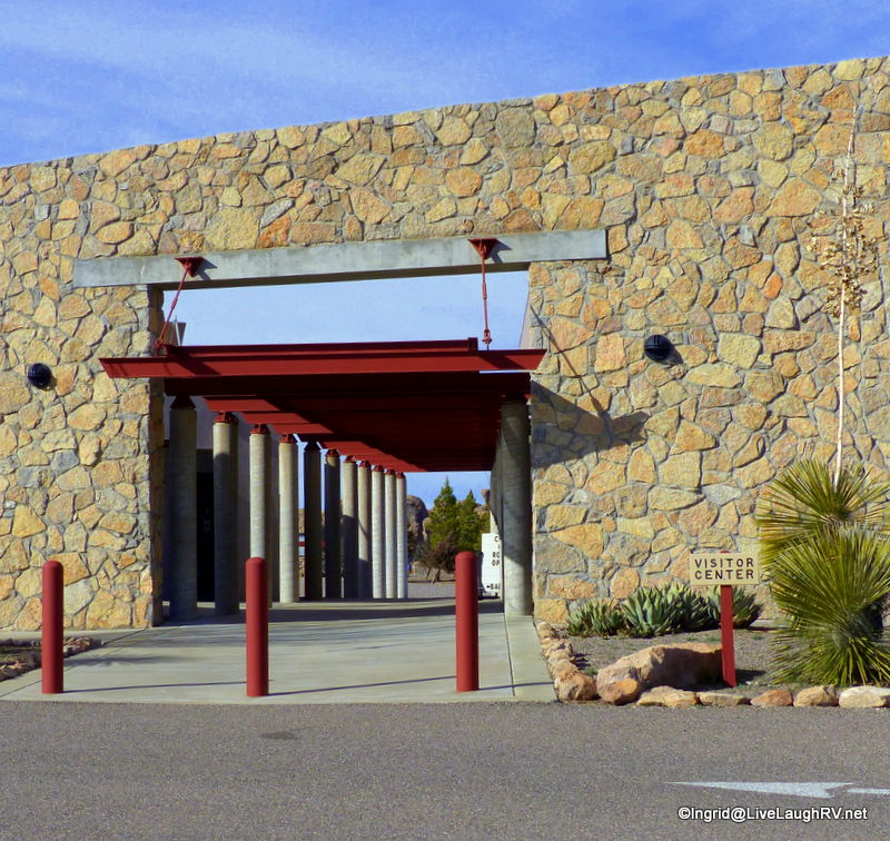 Visitor center at City of Rocks State Park