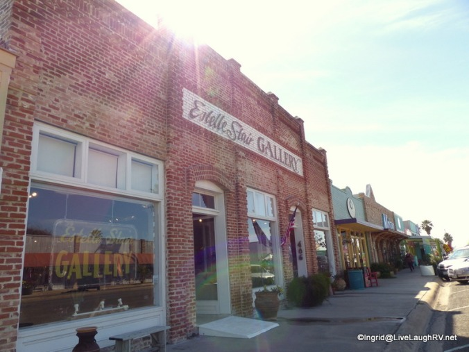 Shopping in Rockport, Texas - quaint, unique shops and interesting structures