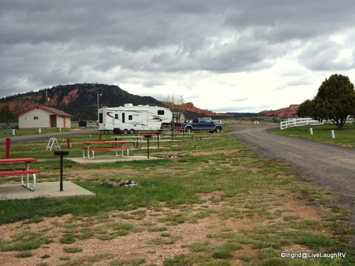 Red Canyon RV Park, Panguitch, Utah