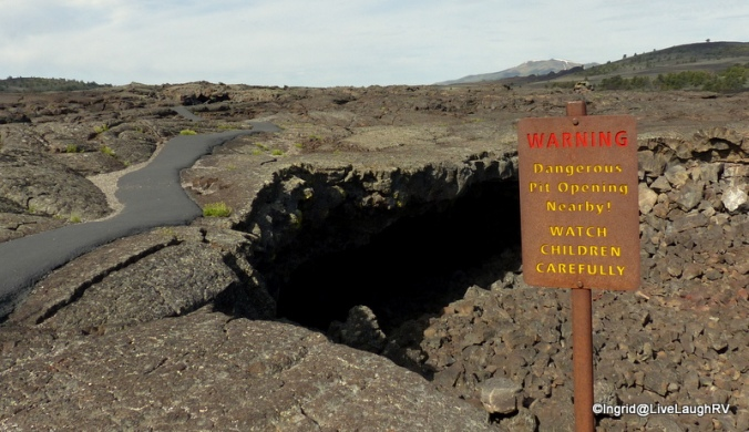 entrance to a Lava tube