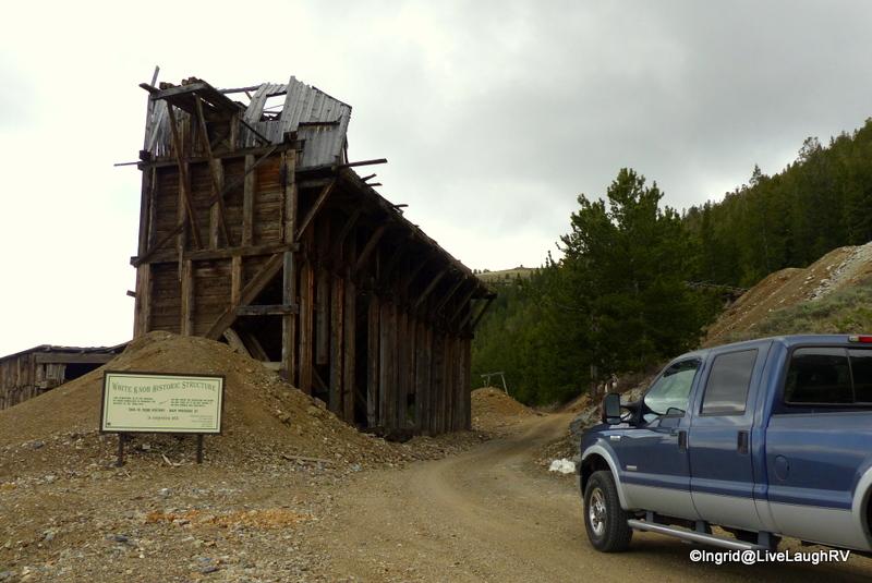 Exploring the backcountry near Mackay Idaho.