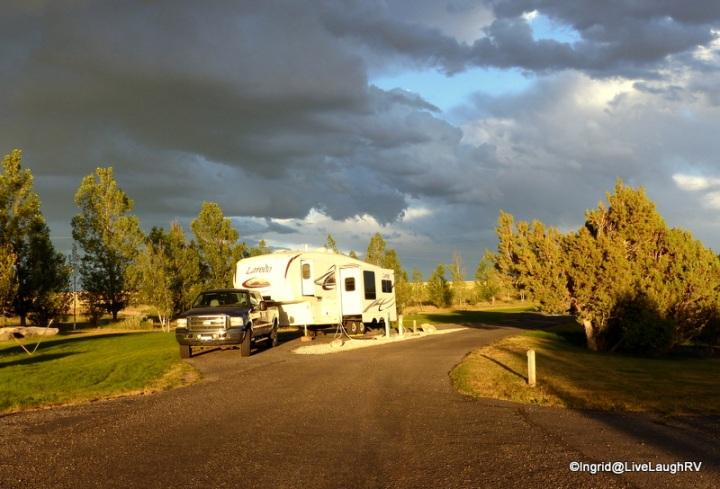 Juniper Campground - Ririe Reservoir