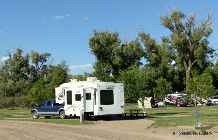 We did a quick overnight at the Yampa River State Park in Colorado