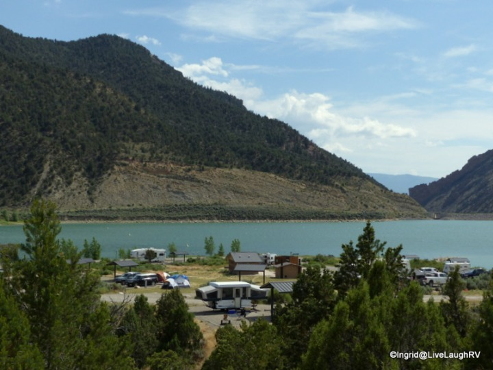 Rifle State Park - Rifle Gap Campground