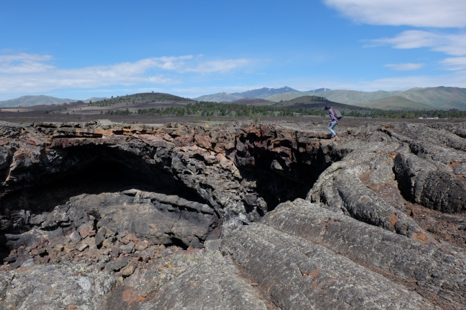 Lava Tube Craters of the Moon