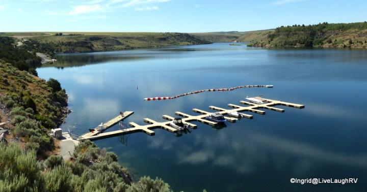 Ririe Reservoir