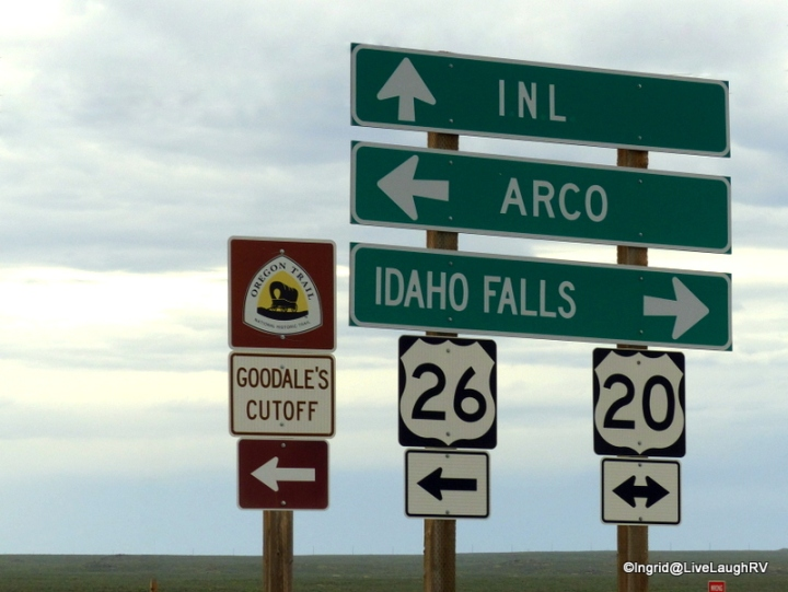 The Oregon Trail and Goodale's cutoff