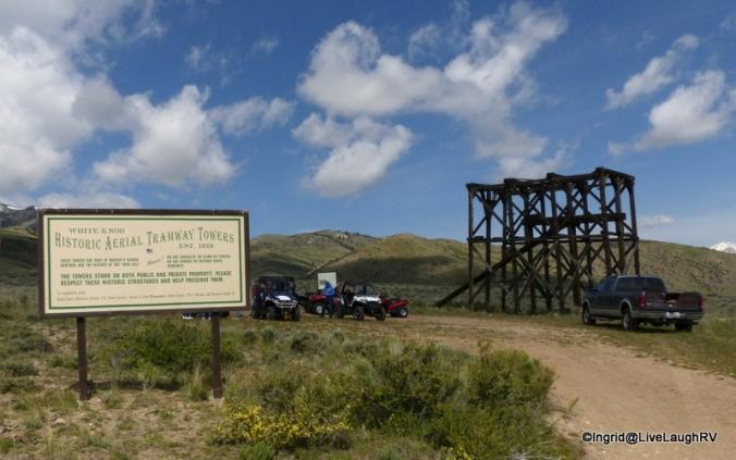 Mackay mine hill tour