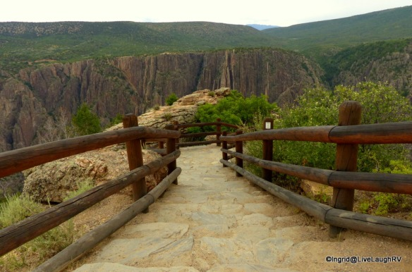 Montrose is a great place to camp to visit Black Canyon of the Gunnison