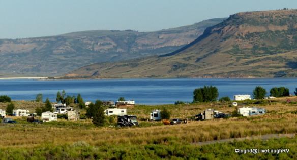 Elk Creek Campground, Blue Mesa Reservoir, Colorado