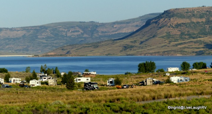 Elk Creek Campground, Blue Mesa Reservoir, Colorado