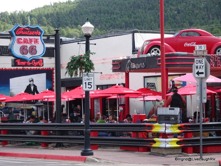 Williams, Arizona - historic Route 66 is the theme around here - fun!