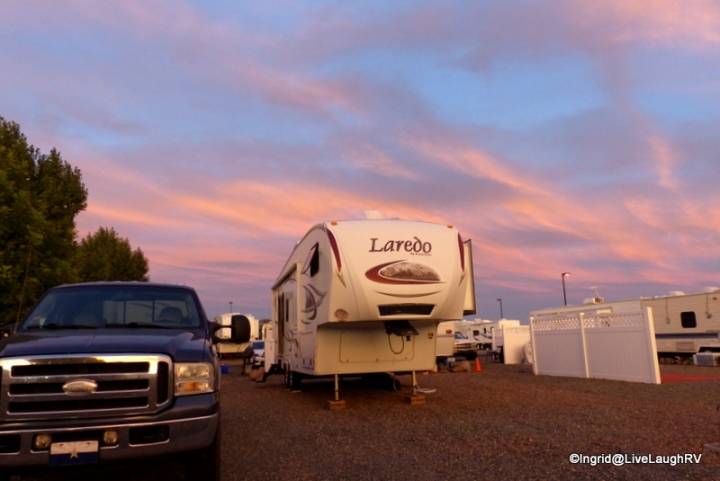 Fairgrounds RV Park, Prescott Valley, AZ. It was an ok place to park for the month of September.