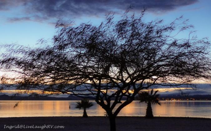 sunset Lake Havasu