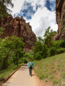Riverside Walk Zion National Park