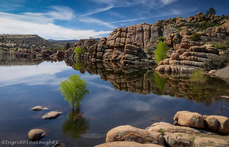 reflection Watson Lake