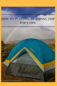 top 9 tips for camping