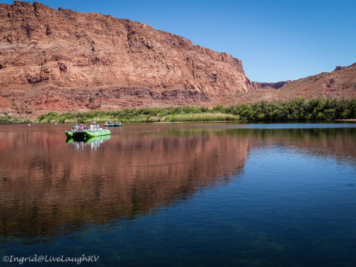 Colorado River boat tour