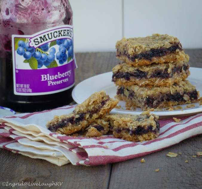 Smucker's Blueberry preserve recipes