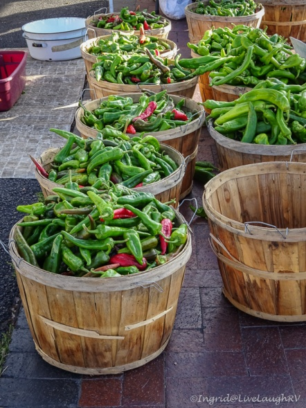Santa Fe peppers and chili's