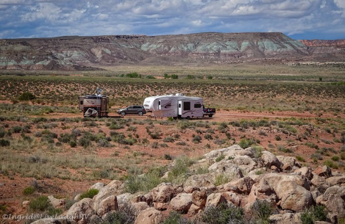 RVing in Moab Utah
