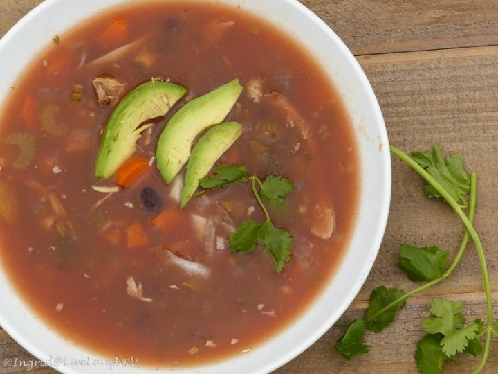 Southwest Chicken Soup
