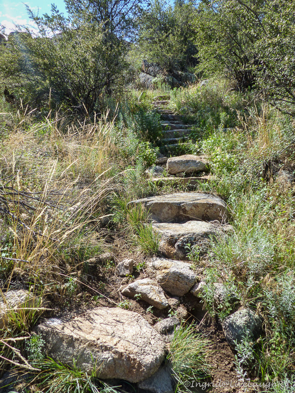 hiking Prescott trails, Arizona