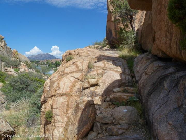Willow Lake trail Prescott, Arizona