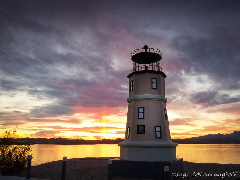 Lighthouses of Lake Havasu