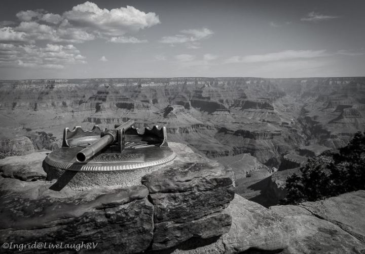 Grand Canyon Black and White photography