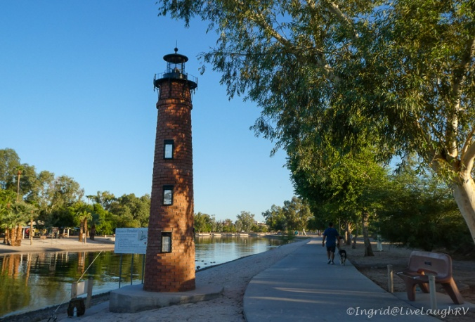 Durrituck Beach Lighthouse Lake Havasu City Arizona