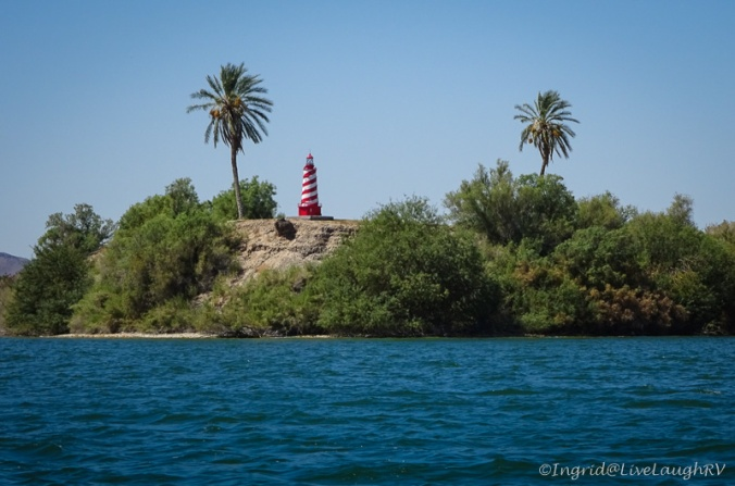 lighthouses in Arizona Lake Havasu City