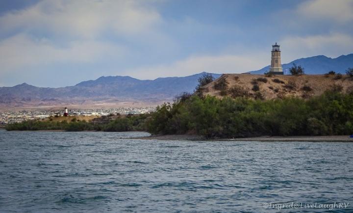Lake Havasu Arizona lighthouses