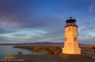 Split Rock lighthouse Lake Havasu City Arizona