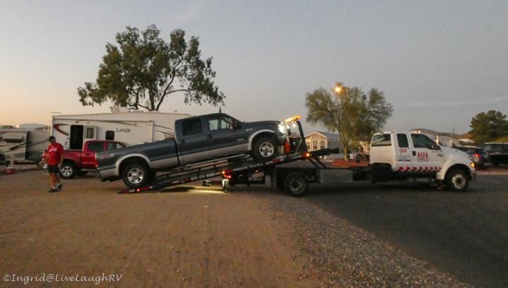 truck break down