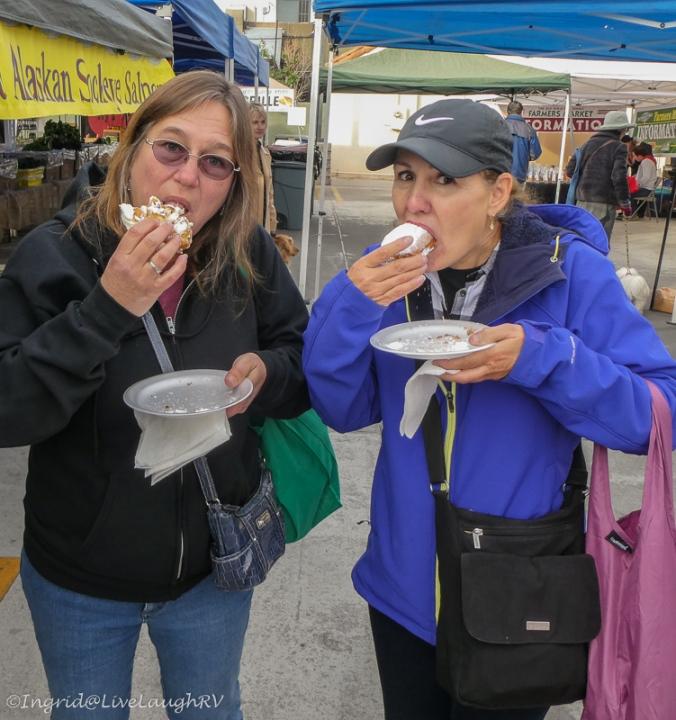 beignets farmers market
