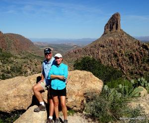 Weavers needle Peralta Trail Superstition Mountain Arizonan
