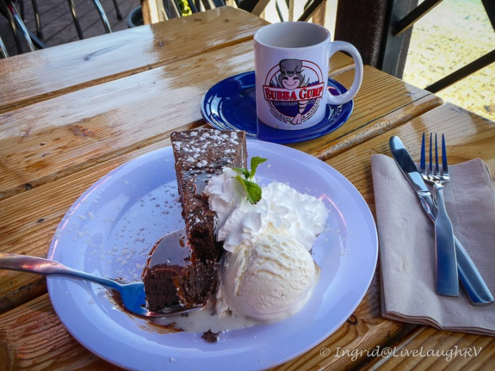 Bubba Gump dessert