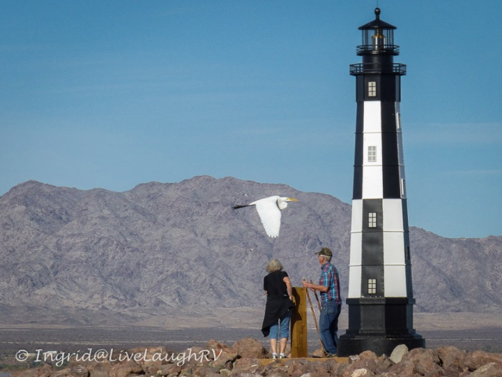 lighthouses of Lake Havasu City