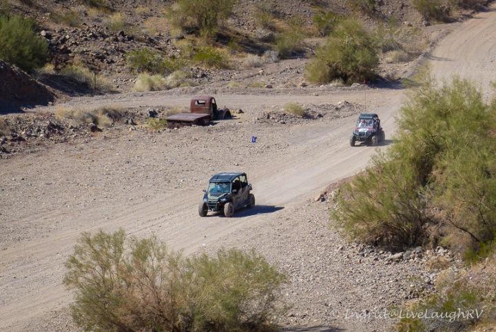 UTV and the Desert Bar