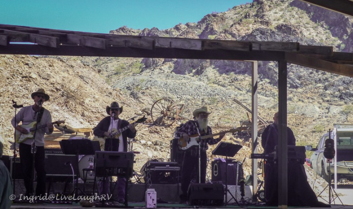 live entertainment at the Desert Bar