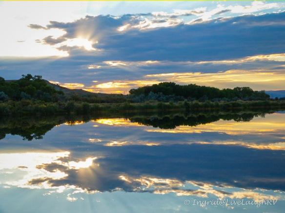 J. Robb State Park sunset