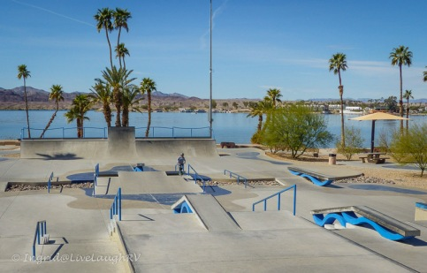 skate park Lake Havasu, Arizona