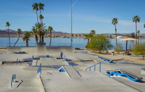 skate park Lake Havasu, Arizona