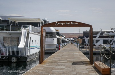 Antelope Point Marina