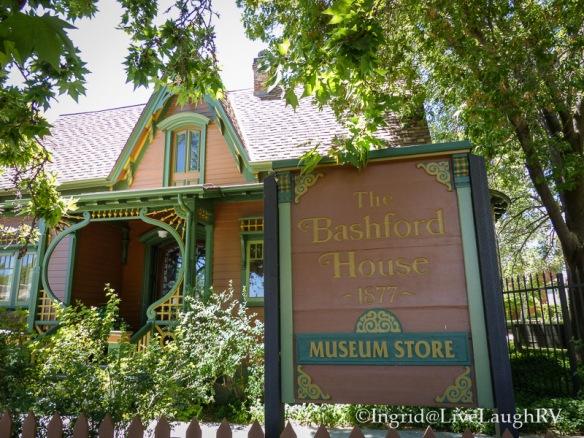 Bashford House Sharlott Museum Prescott Arizona