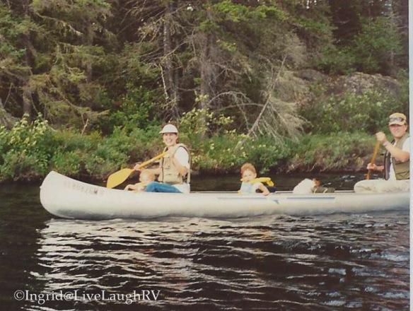 Boundary Waters Canoe Area northern Minnesota Canoe trip