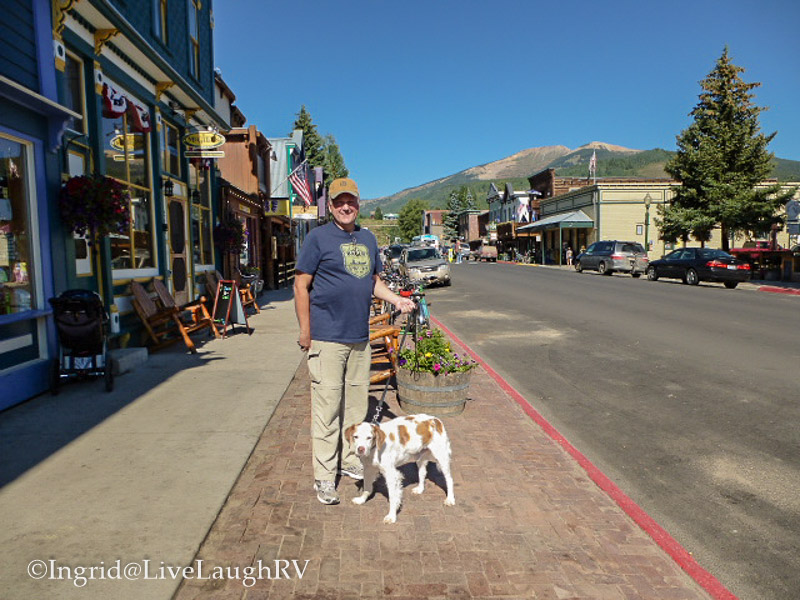dog friendly Crested Butte Colorado