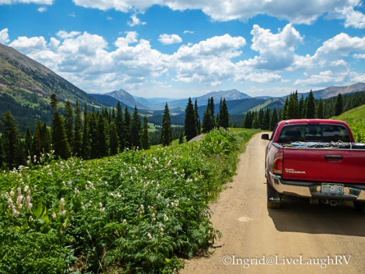 Washington Gulch Road Crested Butte Colorado